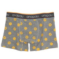 anapau UNDER SHORTS ニコパンマン (GRAY)