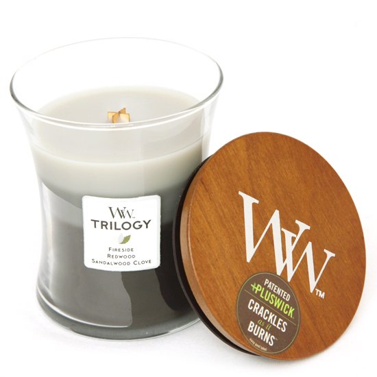 Wood Wick TRILOGY (Warm Woods)