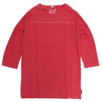 GO HEMP FOOTBALL TEE (CARMAIN RED)