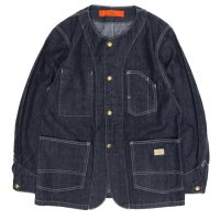GO WEST NO COLLAR WORK JACKET (ONE WASH)