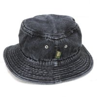 Phatee BUCKET HAT (WASHED BLACK DENIM)