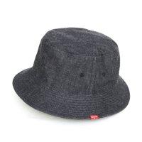GO WEST DENIM BACKET HAT (ONE WASH)