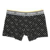 anapau UNDER SHORTS パンダドット (BLACK)