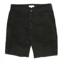 ORDINARY FITS FATIGUE SHORTS (BLACK)