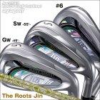 【平日のみ出荷】ルーツゴルフ ザ・ルーツJinアイアン #6、GW、SW単品