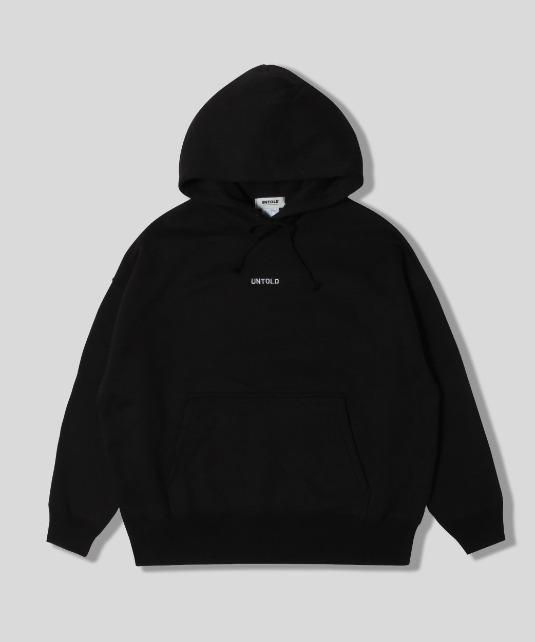 UNTOLD EMBROIDERY<br>LOGO SWEAT HOODIE