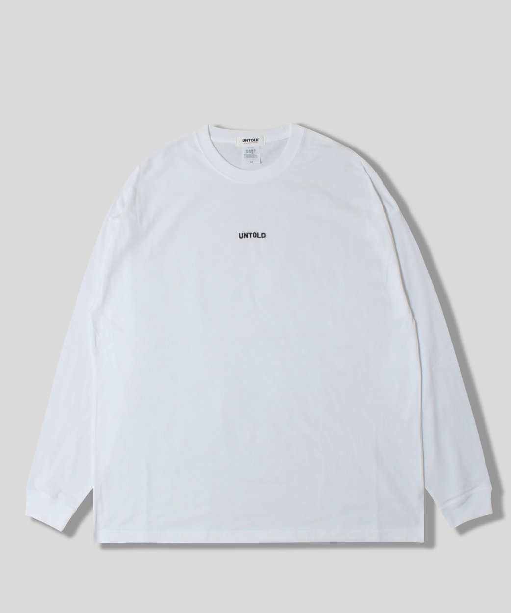 UNTOLD EMBROIDERY<br> LOGO LS TEE