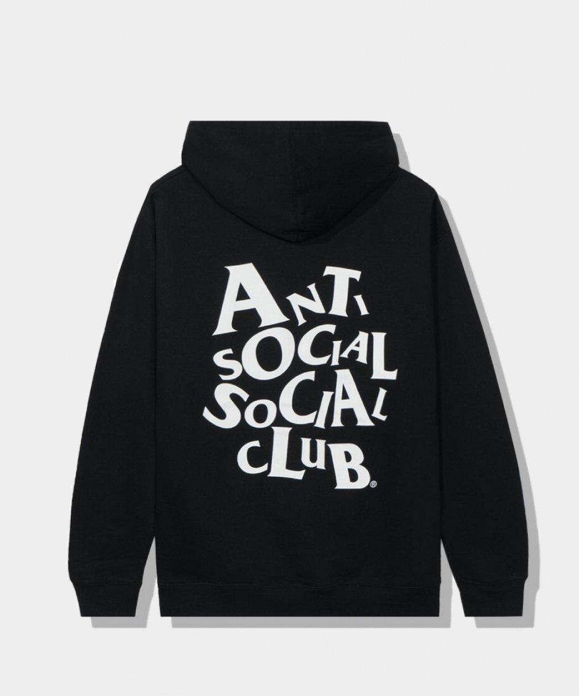 Anti Social Social Club ASSCアンチソーシャルソーシャルクラブ<br> Complicated Black Hoodie/パーカー