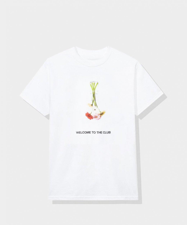 Anti Social Social Club ASSCアンチソーシャルソーシャルクラブ<br>Hello/ Goodbye White Tee/Tシャツ