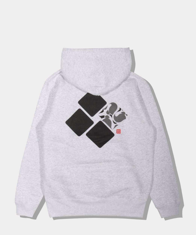 UNTOLD x MHAK Square Logo Hoodie / フリース