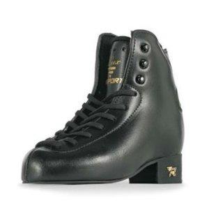 【お取寄せ品】リスポート ラックス フィギュアスケート靴/ブラック/ダブルジャンプ
