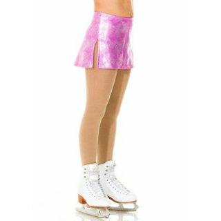 <在庫品>モンドール ライトピンク ホログラムのフラットスカート◆子供12-14、大人Mのみ