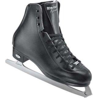 【お取寄せ品】ライデル フィギュアスケート靴 エメラルド ブラック