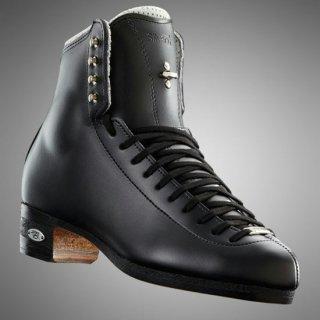 【お取寄せ品】ライデル フィギュアスケート靴 シルバースター ブラック