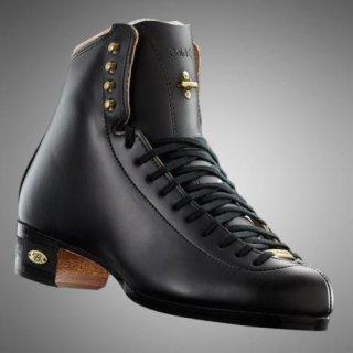 【お取寄せ品】ライデル フィギュアスケート靴 ゴールドスター ブラック