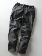 CURLY CLOUDY EZ TROUSERS(チャコール)