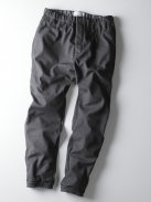 CURLY CLOUDY RIB TROUSERS(グレー)
