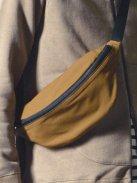 CURLY ASTOR WAIST BAG(ダークベージュ/ブラック/フリーサイズ)