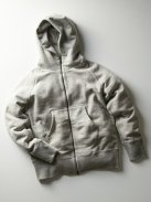 CURLY RAFFY ZIP PARKA(グレー)