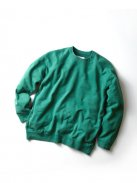CURLY FROSTED CREW SWEAT(グリーン)