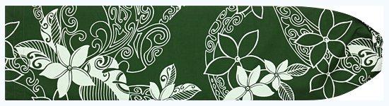 緑のパウスカートケース プルメリア・カヒコ柄 pcase-2546GN 【メール便可】★オーダーメイド