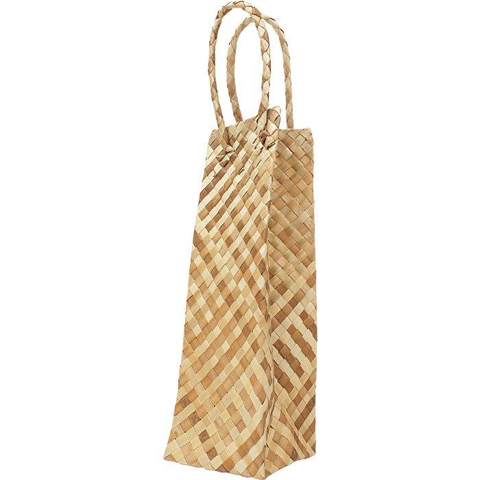 ラウハラ シングルワインバッグ lauhala wine bag