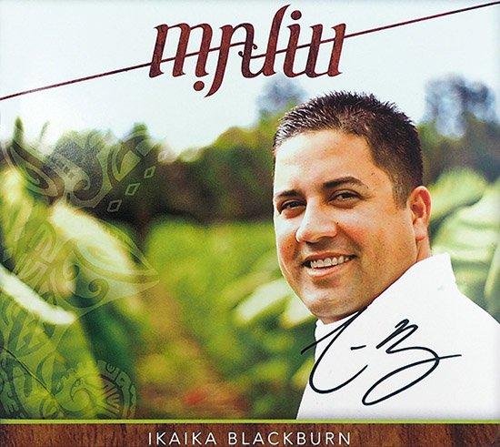 【サイン入りCD】 Maliu / Ikaika Blackburn (マリウ / イカイカ・ブラックバーン) 【メール便可】