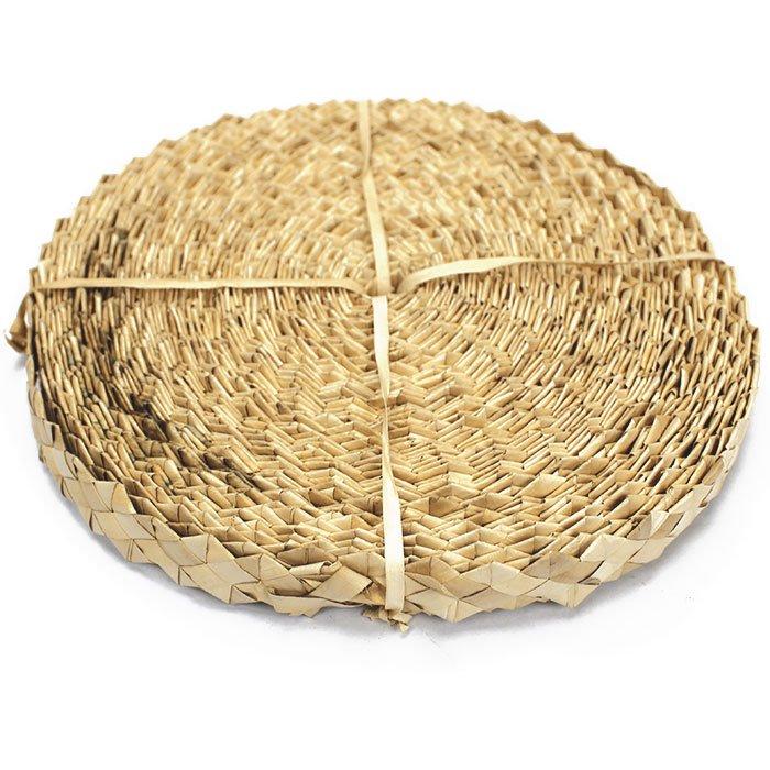 ヤシ パームリーフ ロール ナチュラル palm leaf roll (ヘッドドレス・ヒップベルト・クラフト用)