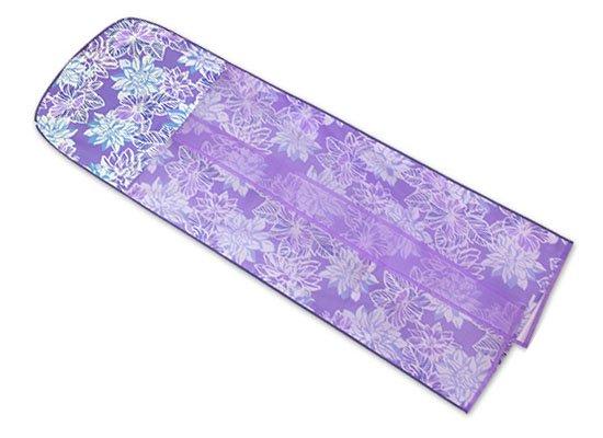 紫のドレスカバー ガーデニア・ハイビスカス柄 2515PPAQ