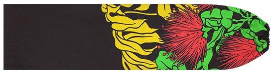 黒のパウスカートケース レフア・モンステラ pcase-2589BK 【メール便可】 ★オーダーメイド