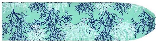 水色のパウスカートケース コーラル柄 pcase-2594AQ 【メール便可】★オーダーメイド