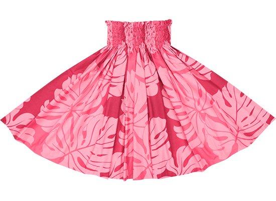 ピンクのパウスカート モンステラ・グラデーション柄 spau-2600Pi