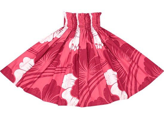 ピンクのパウスカート ハイビスカス大柄 spau-2601Pi