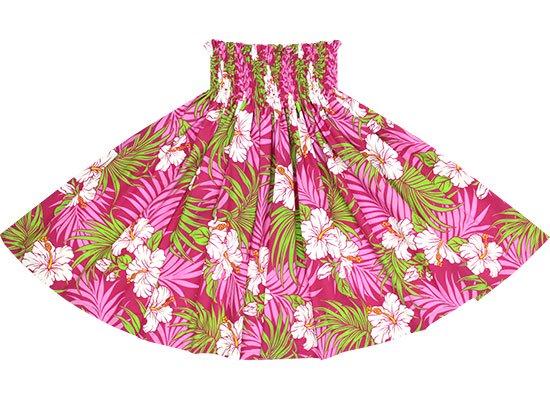 ピンクのパウスカート ハイビスカス・ヤシ柄 spau-2618Pi