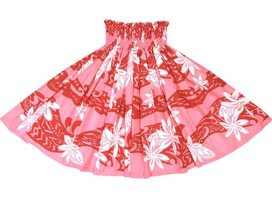 ピンクのパウスカート ティアレ・タパ柄 spau-2629Pi