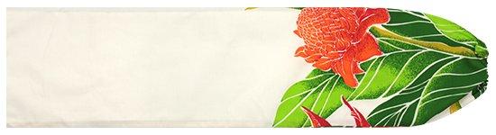 クリーム色のパウスカートケース プロテア・バードオブパラダイス柄 pcase-2627CR 【メール便可】★オーダーメイド