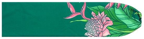 ヒスイ色のパウスカートケース プロテア・バードオブパラダイス柄 pcase-2627JD 【メール便可】★オーダーメイド