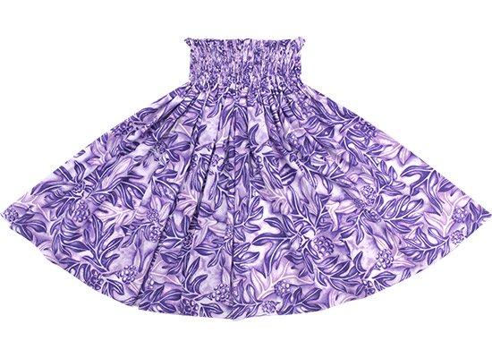紫のパウスカート ウル総柄 spau-2635PPPP