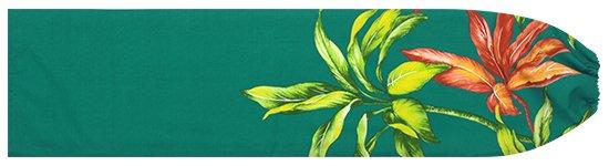 ヒスイ色のパウスカートケース ティリーフ柄 pcase-2636JD 【メール便可】★オーダーメイド