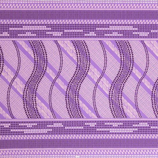 紫のハワイアンファブリック タパ・カヒコ柄 fab-2641PP 【4yまでメール便可】