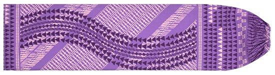 紫のパウスカートケース タパ・カヒコ柄 pcase-2641PP 【メール便可】★オーダーメイド