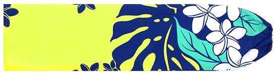 黄色のパウスカートケース プルメリア・モンステラ柄 pcase-2647YW 【メール便可】 ★オーダーメイド