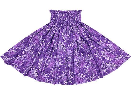 紫のパウスカート ラウアエ柄 spau-2653PP