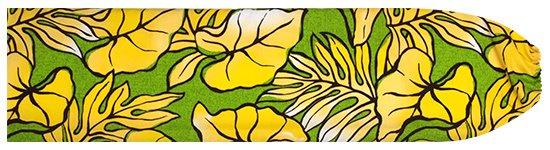 きみどりと黄色のパウスカートケース タロ・ラウアエ柄 pcase-2655LGYW  【メール便可】 ★既製品