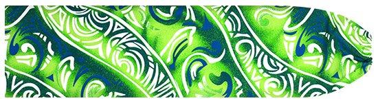 きみどりと緑のパウスカートケース トライバル柄 pcase-2656LGGN 【メール便可】★オーダーメイド