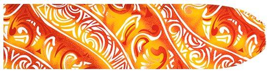 黄色と赤のパウスカートケース トライバル柄 pcase-2656YWRD 【メール便可】★オーダーメイド