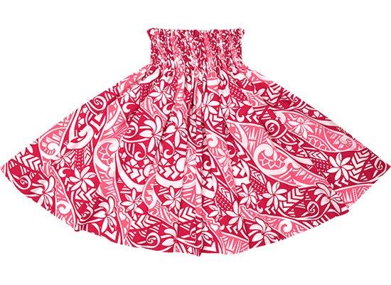 ピンクのパウスカート ティアレ・タパ柄 spau-2665Pi