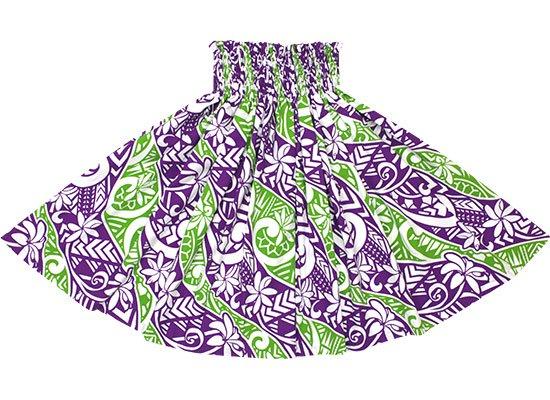 紫のパウスカート ティアレ・タパ柄 spau-2665PP【NPS】