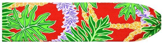 赤のパウスカートケース ラウアエ・フラワーレイ柄 pcase-2666RD  【メール便可】 ★既製品