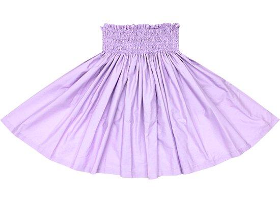 【紐パウスカート】 ラベンダー無地のパウスカート himo-lavender 65cm 4本ゴム【既製品】